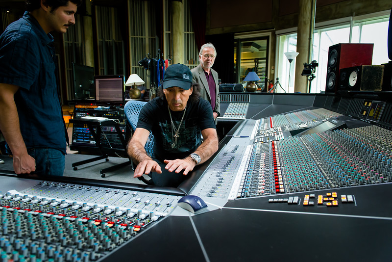 """Chris Lord Alge at Real World Studios, Aug 2012   -- Watch our exclusive VIDEO interview with Chris Lord Alge here: <a href=""""http://www.recordproduction.com/chris-lord-alge.html"""">http://www.recordproduction.com/chris-lord-alge.html</a>"""