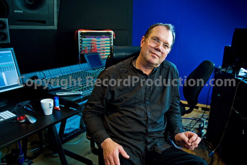 "Top record producer Chris Porter seen at his recording studio in London, UK<br /> PUBLISHED:  Resolution Magazine, UK  -  Watch the Chris Porter VIDEO interview:  <a href=""http://www.recordproduction.com/chris-porter.html"">http://www.recordproduction.com/chris-porter.html</a>"