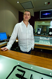 Record producer Chris Sheldon in the recording studio  -- Watch Chris Sheldon in an exclusive video interview here:  http://www.recordproduction.com/chris-sheldon.html