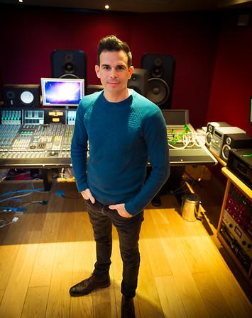 Clint Murphy, music producer and recording engineer at Modern World Studios, UK