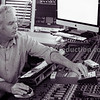 Gary Stevenson, Record Producer, at the controls in his studio
