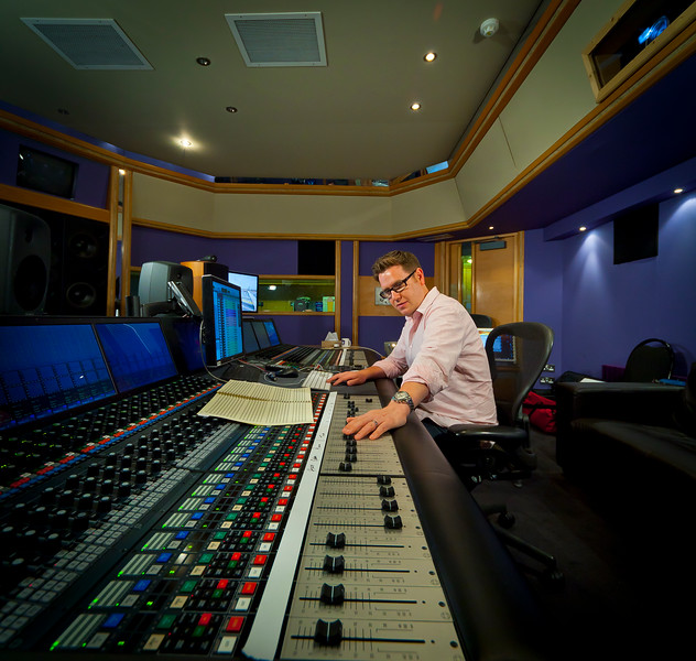 """Recording and mix engineer Jake Jackson behind the controls at Air Recording Studios London UK   Watch our video interview with Jake Jackson:  <a href=""""http://www.recordproduction.com/record-producer-features/jake-jackson-engineer640.htm"""">http://www.recordproduction.com/record-producer-features/jake-jackson-engineer640.htm</a>"""