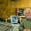 "Recording engineer and music producer Jerry Boys behind the SSL mixing console at Livingston Studios, London.    -- Watch our exclusive VIDEO interview with Jerry Boys:  <a href=""http://www.recordproduction.com/jerry-boys-record-producer.html"">http://www.recordproduction.com/jerry-boys-record-producer.html</a>"