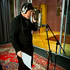 Jim Diamond recording at Livingston Studios