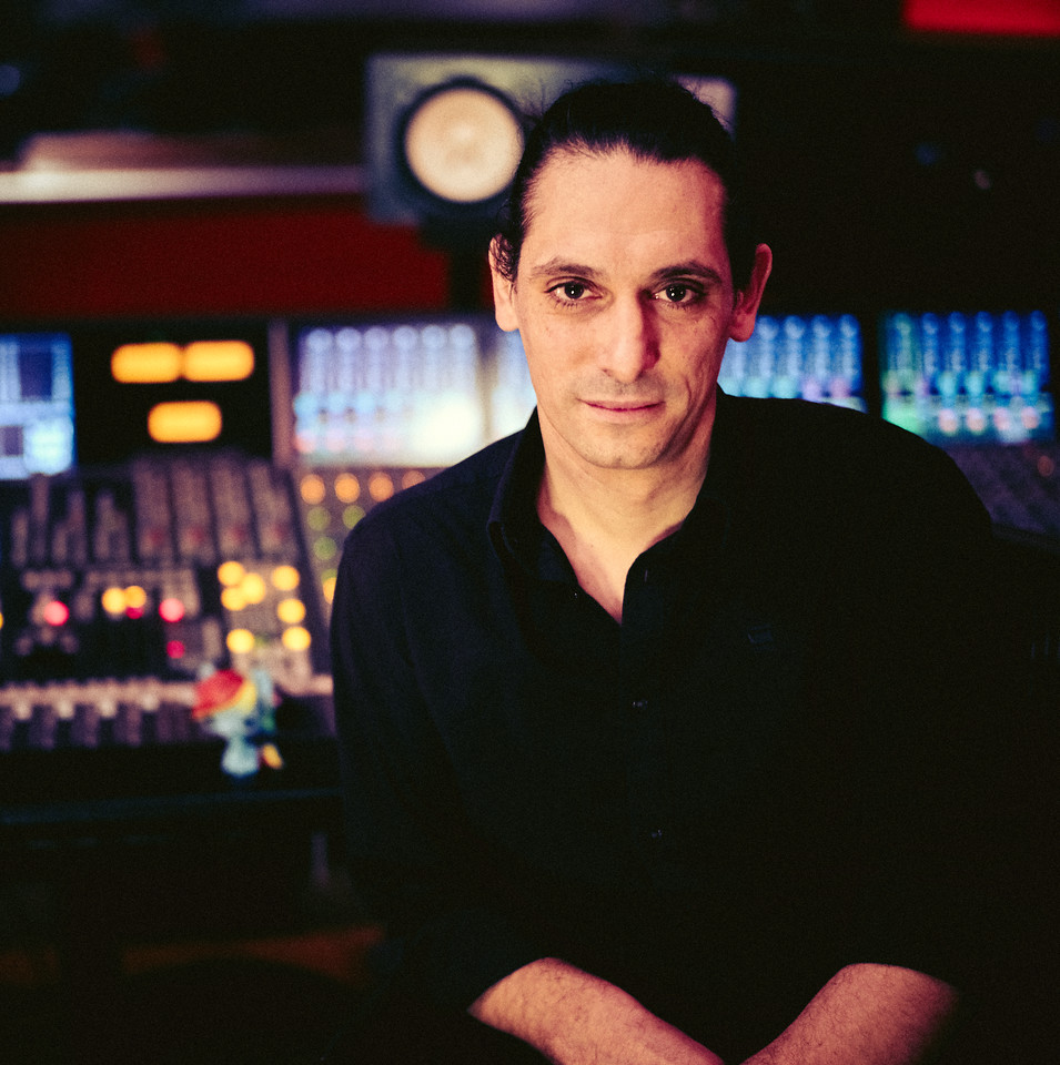 Laurent Dupuy at Dean Street Studios, London, UK.