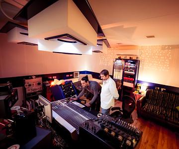 Laurent Dupuy at Rimshot Studios