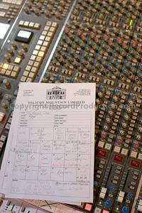Helicon Mountain Track Sheet   --  Watch Laurie Latham's video interviews:  http://www.recordproduction.com/laurie-latham-record-producer.html