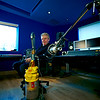 """Mike Bennett with Dyson Hoover at Far Heath Studios, Northamptonshire, UK.<br /> PUBLISHED Resolution Magazine   -  Watch Mike Bennett's video interviews here:  <a href=""""http://www.recordproduction.com/mike-bennett.html"""">http://www.recordproduction.com/mike-bennett.html</a>"""