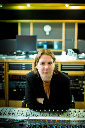 Record producer Mike Crossey at Air Recording Studios, London.  Mike produced the latest Razorlight album PUBLISHED:  Resolution Magazine, UK   --  Watch our video interviews with Mike Crossey here:  http://www.recordproduction.com/mike-crossey.html