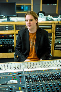 Record producer Mike Crossey at Air Recording Studios, London.  Mike produced the latest Razorlight album   --  Watch our video interviews with Mike Crossey here:  http://www.recordproduction.com/mike-crossey.html