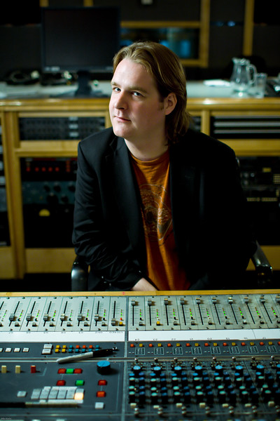 "Record producer Mike Crossey at Air Recording Studios, London.  Mike produced the latest Razorlight album   --  Watch our video interviews with Mike Crossey here:  <a href=""http://www.recordproduction.com/mike-crossey.html"">http://www.recordproduction.com/mike-crossey.html</a>"