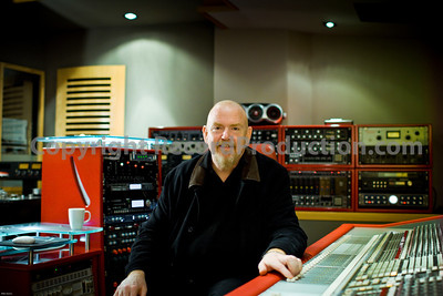 Mike Hedges, record producer photos at Alpha Centuri Recording Studios, London.  --  Watch the Mike Hedges VIDEO interview:  http://www.recordproduction.com/mike-hedges.html