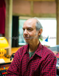 Legendary recording engineer and music producer Mike Pela at Real World Studios