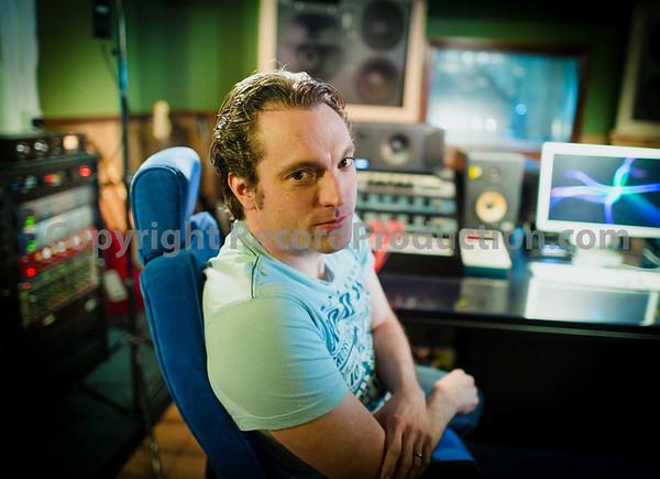 Al Unsworth at PWL Studios