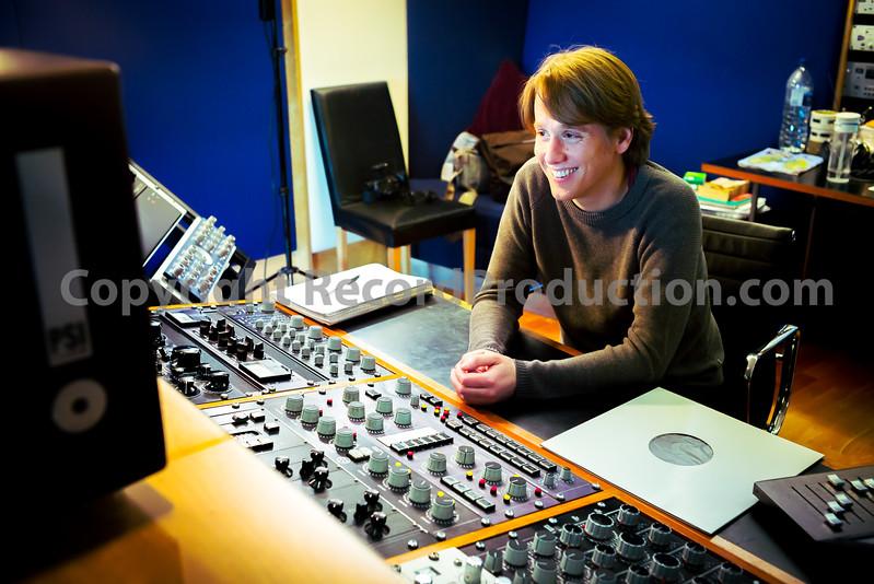 Peter Hewitt-Dutton at Metropolis Studios