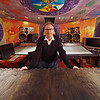 """Top recording and mixing engineer (producer and musician) Phil Harding wide angle shot at Strongroom Studios, London, UK   Watch the Phil Harding video interviews:  <a href=""""http://www.recordproduction.com/phil_harding.htm"""">http://www.recordproduction.com/phil_harding.htm</a>"""