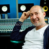 Musician and producer Rollo Armstrong of Faithless behind his SSL AWS 900+ at his home recording studio in the UK