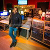 Rock music producer Romesh Dodangoda at Longwave Studios, Cardiff, UK