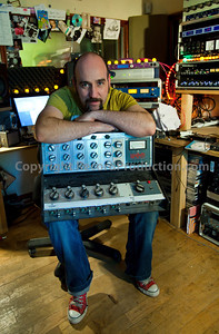 Record producer Sean Genockey at Black Dog Recording Studios, London, England. PUBLISHED:  Resolution Magazine, UK   -  Watch Sean Genockey's video interviews here:  http://www.recordproduction.com/sean-genockey-producer.html