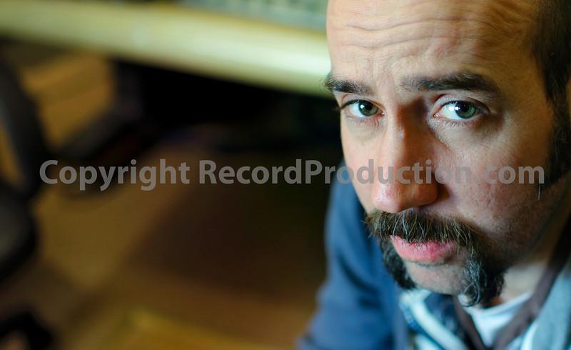 Record producer Sean Genockey at Rockfield Studios, residential recording studio   -  Watch Sean Genockey's video interviews here:  http://www.recordproduction.com/sean-genockey-producer.html