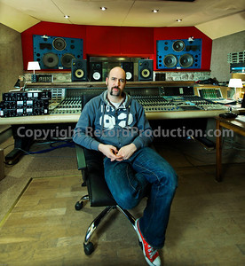 Record producer Sean Genockey at Rockfield Studios, residential recording studio   -  Watch Sean Genockey's video interviews here:  http://www.recordproduction.com/sean-genockey-producer.html