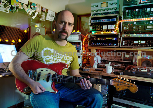 Record producer Sean Genockey at Black Dog Studios, Sean's private recording studio   -  Watch Sean Genockey's video interviews here:  http://www.recordproduction.com/sean-genockey-producer.html