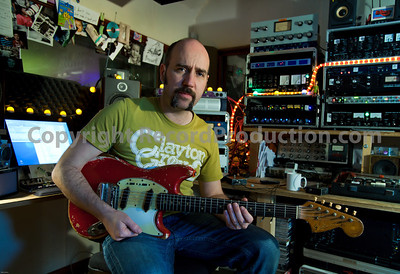 Record producer Sean Genockey at Black Dog Recording Studios, London, England.   -  Watch Sean Genockey's video interviews here:  http://www.recordproduction.com/sean-genockey-producer.html