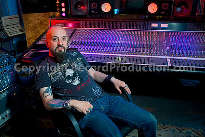 Rock and metal music producer and recording engineer Simon Efemey at Chapel Recording Studios  --  Watch our VIDEO interview with Simon Efemey here:  http://www.recordproduction.com/record-producer-features/simon-efemey-chapel.html