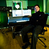 """Record producer and mixing engineer Simon Gogerly athis new recording studios in East Anglia, the Hub Studios. -  Watch our video interviews with Simon Gogerly here:  <a href=""""http://www.recordproduction.com/simon-gogerly-music-producer.html"""">http://www.recordproduction.com/simon-gogerly-music-producer.html</a>"""