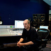 """Music producer Stephen Lipson at the mixing desk in the recording studio   -   Watch our video interview with Steve Lipson:  <a href=""""http://www.recordproduction.com/steve-lipson-record-producer.html"""">http://www.recordproduction.com/steve-lipson-record-producer.html</a>"""