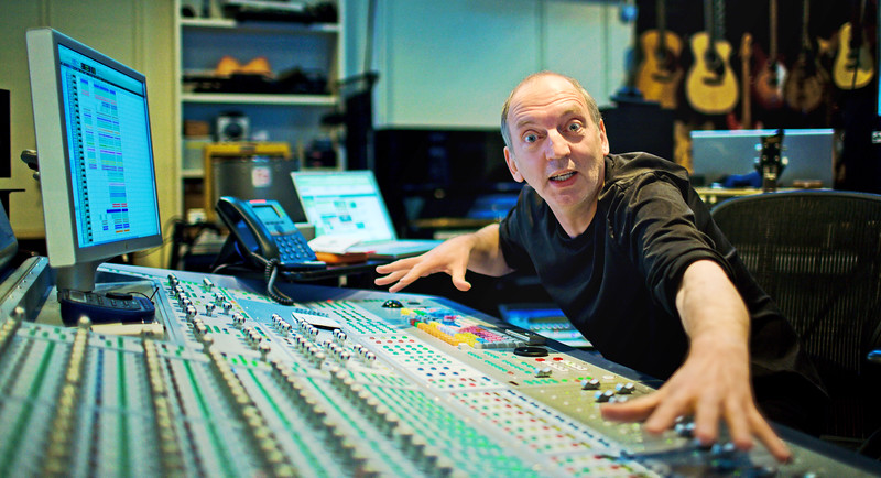 "Stephen Lipson, top record producer at SARM Recording Studios London<br /> Photo published: Performing Songwriter magazine (US), Resolution magazine (UK)   -   Watch our video interview with Steve Lipson:  <a href=""http://www.recordproduction.com/steve-lipson-record-producer.html"">http://www.recordproduction.com/steve-lipson-record-producer.html</a>"