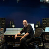"""Record producer Steve Lipson at the mixing desk in the recording studio   -   Watch our video interview with Steve Lipson:  <a href=""""http://www.recordproduction.com/steve-lipson-record-producer.html"""">http://www.recordproduction.com/steve-lipson-record-producer.html</a>"""