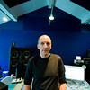 """Record producer Steve Lipson at the mixing desk in the recording studio<br /> PUBLISHED:  Resolution Magazine, UK   -   Watch our video interview with Steve Lipson:  <a href=""""http://www.recordproduction.com/steve-lipson-record-producer.html"""">http://www.recordproduction.com/steve-lipson-record-producer.html</a>"""