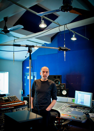 Record producer Steve Lipson at SARM Studios, London   -   Watch our video interview with Steve Lipson:  http://www.recordproduction.com/steve-lipson-record-producer.html