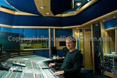 Recording engineer and music producer Steve Orchard at Air Recording Studios London with SSL mixing board PUBLISHED:  Resolution Magazine, UK  --  Watch Steve Orchard's VIDEO interview:  http://www.recordproduction.com/steve-orchard-record-producer-feature.htm