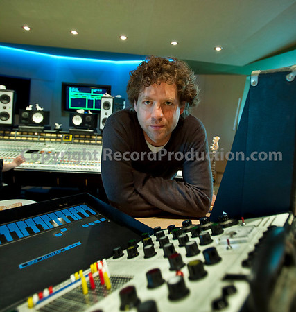 Record producer, studio owner and musician Toby Smith at Angelic Studios, UK   --  Watch our VIDEO interview with Toby Smith: http://www.recordproduction.com/toby-smith.html