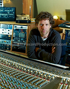 Record producer, studio owner and musician Toby Smith at Angelic Studios, UK - Behind the controls of his SSL 8000G Series mixing console   --  Watch our VIDEO interview with Toby Smith: http://www.recordproduction.com/toby-smith.html