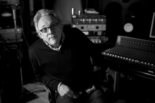 Musician and record producer Trevor Horn at SARM Recording Studios, London. Watch our exclusive video interview with Trevor Horn here:  http://www.recordproduction.com/trevor-horn-record-producer.html