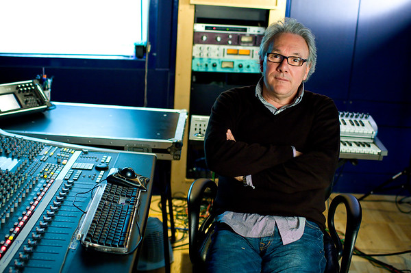 Music producer Trevor Horn in the recording studio Watch our exclusive video interview with Trevor Horn here:  http://www.recordproduction.com/trevor-horn-record-producer.html