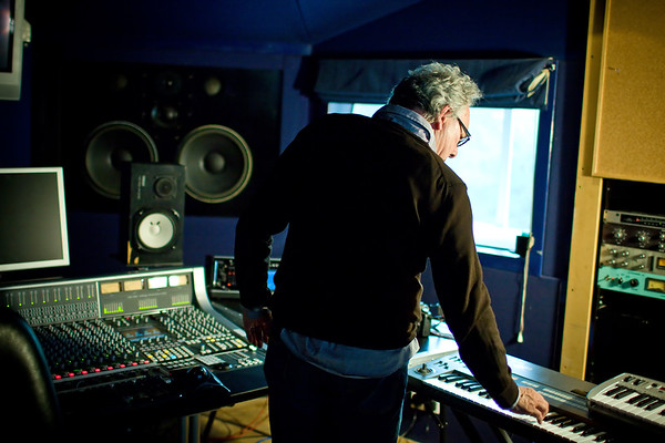 Trevor Horn playing keyboards in the studio Watch our exclusive video interview with Trevor Horn here:  http://www.recordproduction.com/trevor-horn-record-producer.html