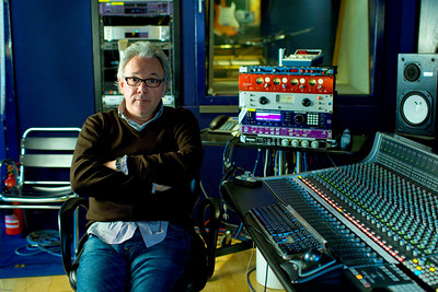Legendary musician and record producer Trevor Horn in his recording studio Watch our exclusive video interview with Trevor Horn here:    http://www.recordproduction.com/trevor-horn-record-producer.html Watch our exclusive video interview with Trevor Horn here:  http://www.recordproduction.com/trevor-horn-record-producer.html