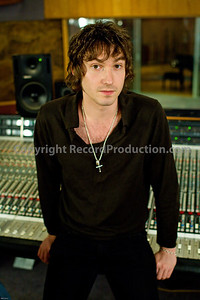 Musician and record producer Tristan Ivemy at Livingston recording studios PUBLISHED:  Resolution Magazine, UK  --  Watch Tristran Ivemy in our VIDEO interview:  http://www.recordproduction.com/tristan-ivemy.html