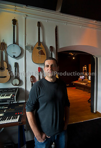 Music producer Yoad Nevo at his recording studio in London   --  Watch our VIDEO interview with Yoad Nevo:  http://www.recordproduction.com/record-producer-features/yoad-nevo-producer640.htm