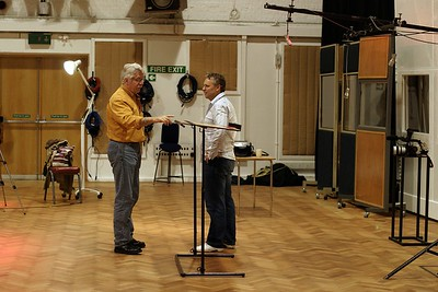 Record producer Ken Scott at Abbey Road Studios