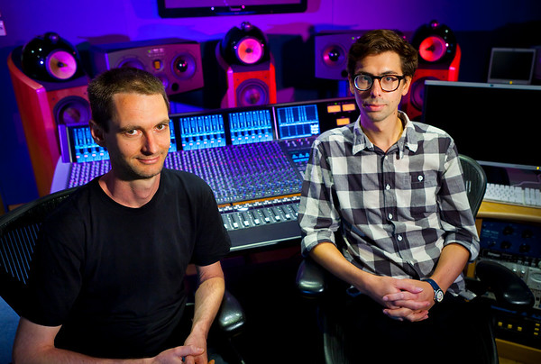 Abbey Road Studios - Studio 52 - with engineers Chris Bolster and Sam Okell