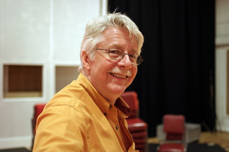 Record producer Ken Scott at Abbey Road Studios