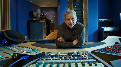 Ray Staff, the disk mastering legend, at new Air Studios Mastering Suite.