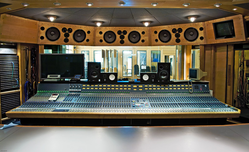 "Classic Neve mixing console at Air Studios, London. <br /> <br /> Find out more about Air Studios: <a href=""http://www.recordproduction.com/AIR.HTM"">http://www.recordproduction.com/AIR.HTM</a><br /> <br /> Further pictures taken in this control room:  See Mike Crossey pictures in Record Producers<br /> <br /> If you would like us to take your pictures get in touch!"