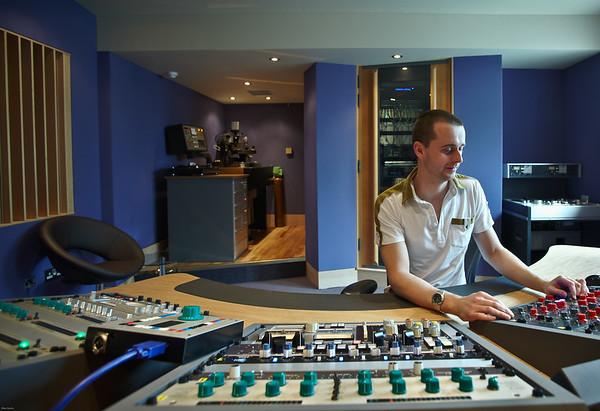 Matt at Air Mastering