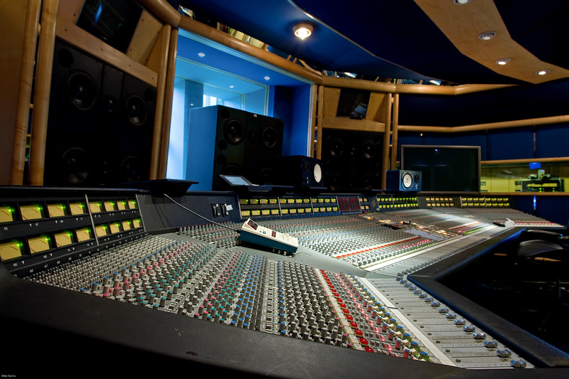 """Air Studios, Studio Two featuring SSL 8000G Series mixing console<br /> <br /> Find out more about Air Studios: <a href=""""http://www.recordproduction.com/AIR.HTM"""">http://www.recordproduction.com/AIR.HTM</a>"""